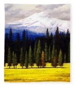 Spring Meadow Mount Brokeoff Fleece Blanket
