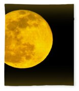 Spring Moon Rising Fleece Blanket