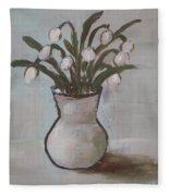 Spring On The Table Fleece Blanket