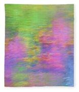 Spring Reflections Fleece Blanket