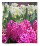 Spring Round Up Fleece Blanket