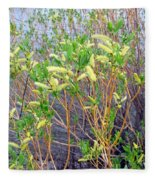 Spring Shoreline Fleece Blanket