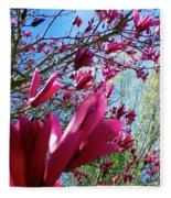 Spring Sky Fleece Blanket