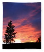 Spring Spectacle Fleece Blanket
