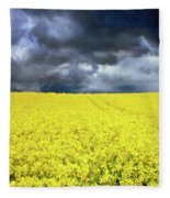 Spring Storm In Australia Fleece Blanket