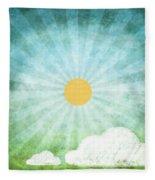 Spring Summer Fleece Blanket