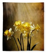 Spring Sun Fleece Blanket