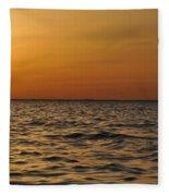 Spring Sunset  Fleece Blanket