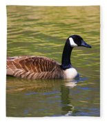 Spring Time Goose Fleece Blanket