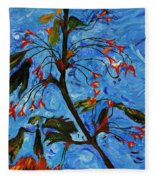 Spring Tree Fleece Blanket