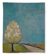 Spring Tree Fleece Blanket