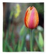 Spring Tulips 179 Fleece Blanket