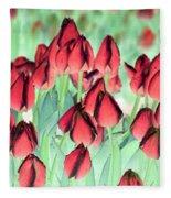 Spring Tulips - Photopower 3012 Fleece Blanket