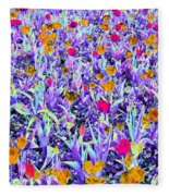 Spring Tulips - Photopower 3124 Fleece Blanket