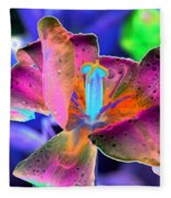 Spring Tulips - Photopower 3128 Fleece Blanket