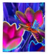 Spring Tulips - Photopower 3151 Fleece Blanket