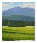 Spring Vista Fleece Blanket