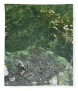 Spring Water At The Grotto Fleece Blanket