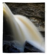 Spring Waterfall Fleece Blanket