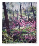 Spring's Passion 2 Fleece Blanket