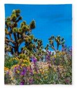 Springtime At The Canyon Fleece Blanket