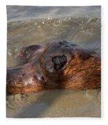 Springtime Driftwood Fleece Blanket