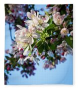 Springtime In Bloom Fleece Blanket