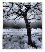 Springtime In Infrared Fleece Blanket