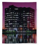 Sprint-metcalf Sunset Fleece Blanket