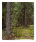 Spruce Forest  Fleece Blanket