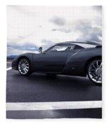 Spyker C12 Zagato Fleece Blanket