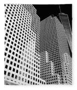 Squared, New York City Fleece Blanket