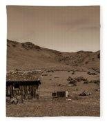 Squaw Butte Homestead Fleece Blanket