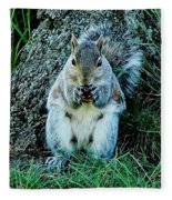 Squirrel Friend Fleece Blanket