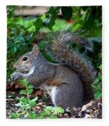 Squirrel IIi Fleece Blanket