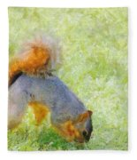 Squirrelly Fleece Blanket