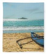 Sri Lanka. Nilaveli Fleece Blanket