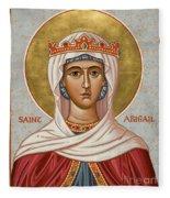 St. Abigail - Jcabi Fleece Blanket