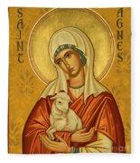 St. Agnes - Jcagn Fleece Blanket