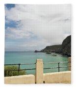 St Agnes To Holywell Fleece Blanket