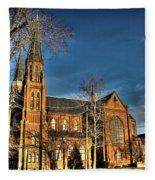 St. Annes Detroit Mi Fleece Blanket