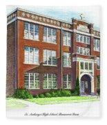 St. Anthony's High School Fleece Blanket