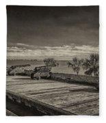 St Augustine Castillo De San Marcos Dsc00141_16 Fleece Blanket