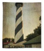 St Augustine Lighthouse Dsc00390_16 Fleece Blanket