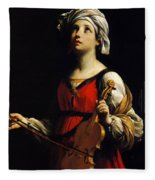 St Cecilia 1606 Fleece Blanket