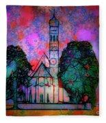 St. Coloman Fleece Blanket