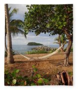 St. Croix Beach Fleece Blanket
