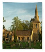 St Davids Church Cemetery 3 Fleece Blanket