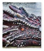 St Davids Day Dragon Fleece Blanket