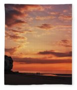 St Edmunds Point, Norfolk, England  Fleece Blanket